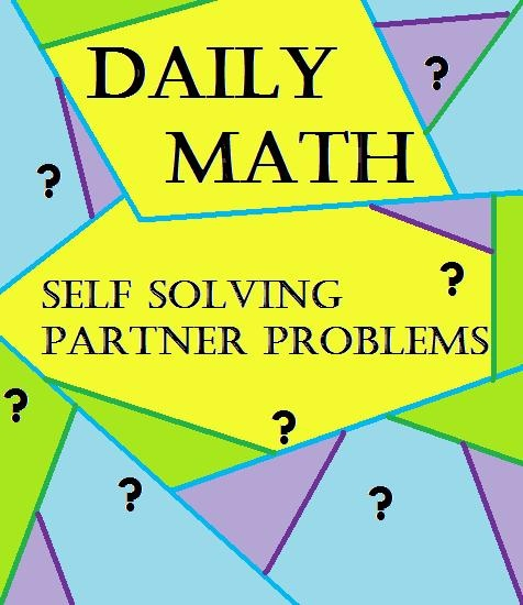 Daily math problem solving resources