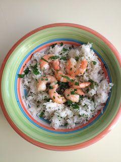 ... Adventures in Cooking: Lemon & Garlic Shrimp with Parmesan Rice