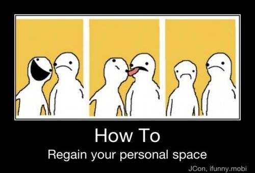 personal space issues