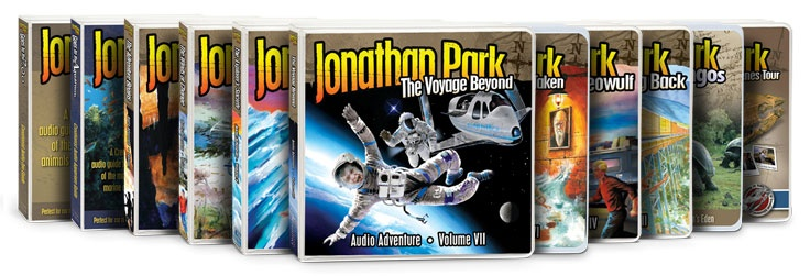 Jonathan Park gr8 audio series for kids and vision forum gr8 place