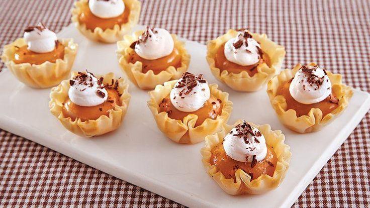 Caramel Custard Tarts Recipe — Dishmaps