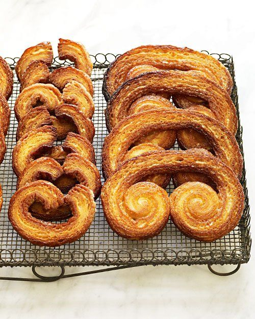 "Palmiers- cute for Valentine's Day, or in an ""S"" shape"