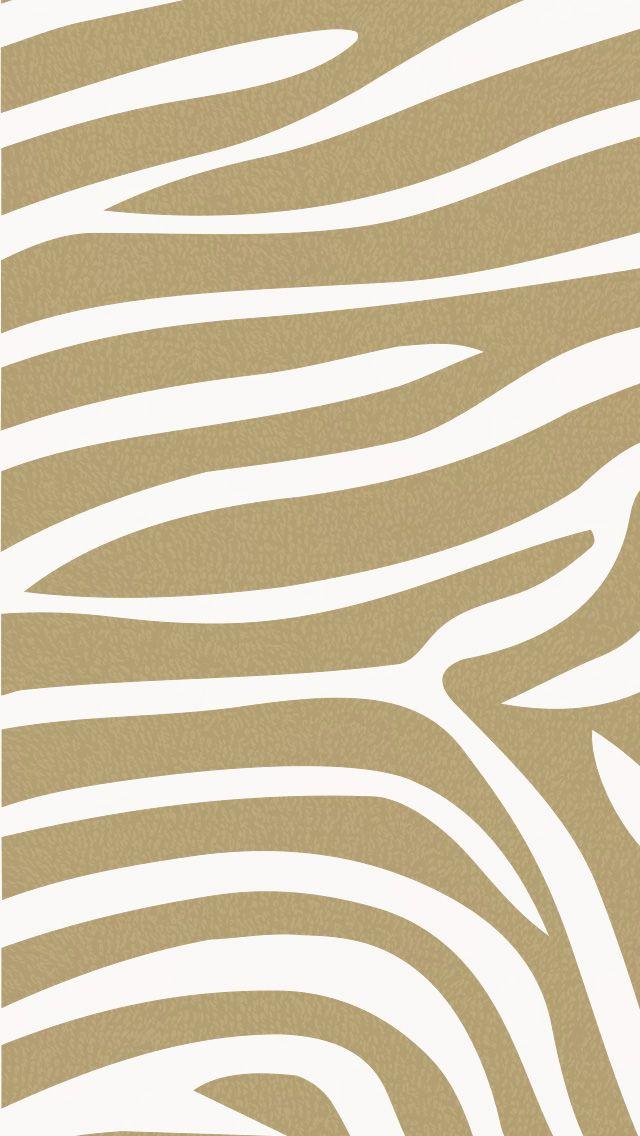 iPhone wallpaper #zebra #animal #brown #pattern