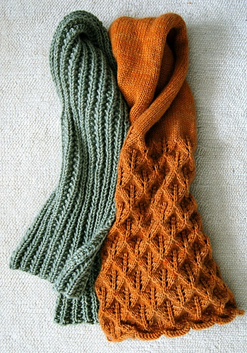 Crochet Knit Stitch Scarf : Just started the green scarf pattern in charcoal last night... SO in ...