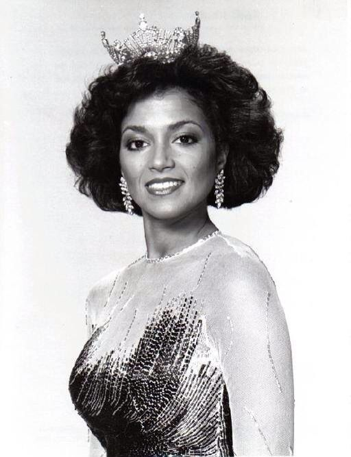 Suzette Charles - Miss America 1984 | Girls Run The World | Pinterest: pinterest.com/pin/219198706837812666
