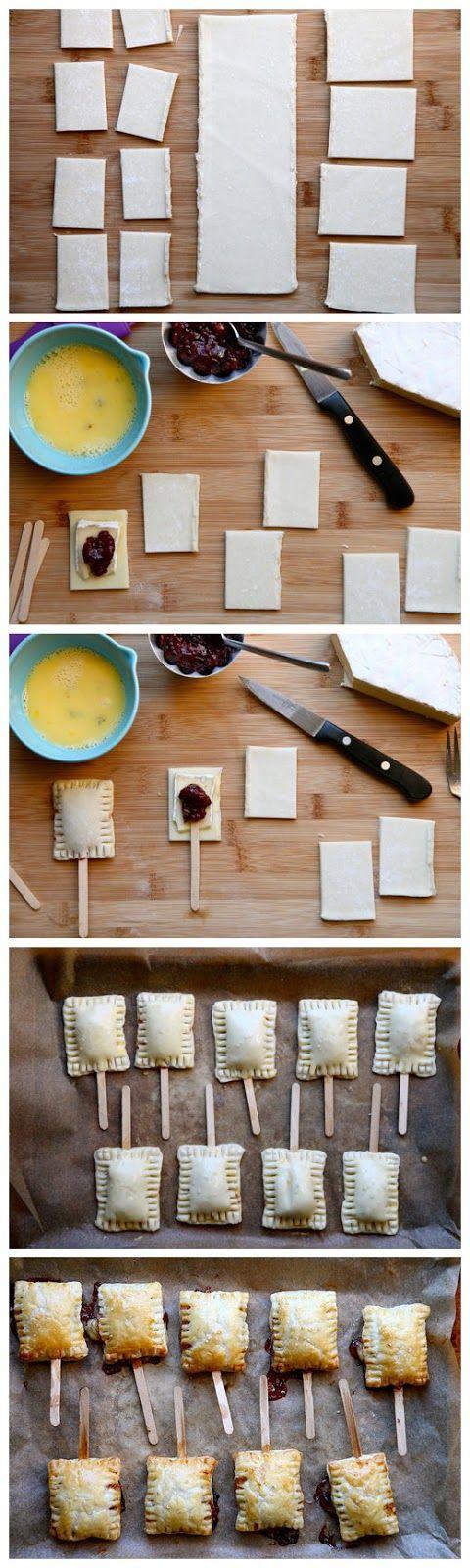 Bite Sized Baked Brie | Mini Bites & Party Food | Pinterest