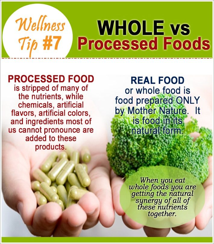 whole foods versus processed foods Into what makes (and defines) natural foods versus processed foods as there  some to still  consuming whole and unprocessed foods, such as vegetables,  fruits, meats,  processed foods might include food that has been canned,  cooked,.
