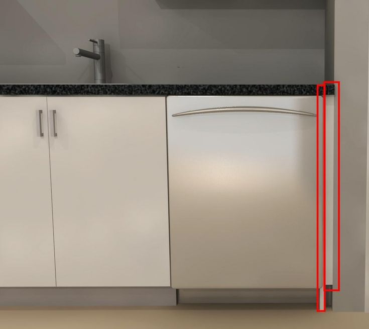 Ikea Kinderzimmer Drehstuhl ~ Filler panel next to dishwasher  Interiors  Kitchen  Pinterest