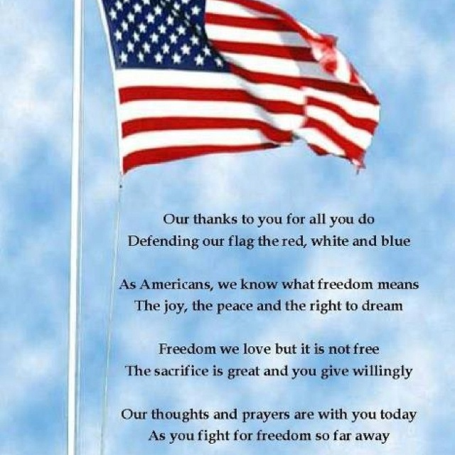 4th july thank you military quotes