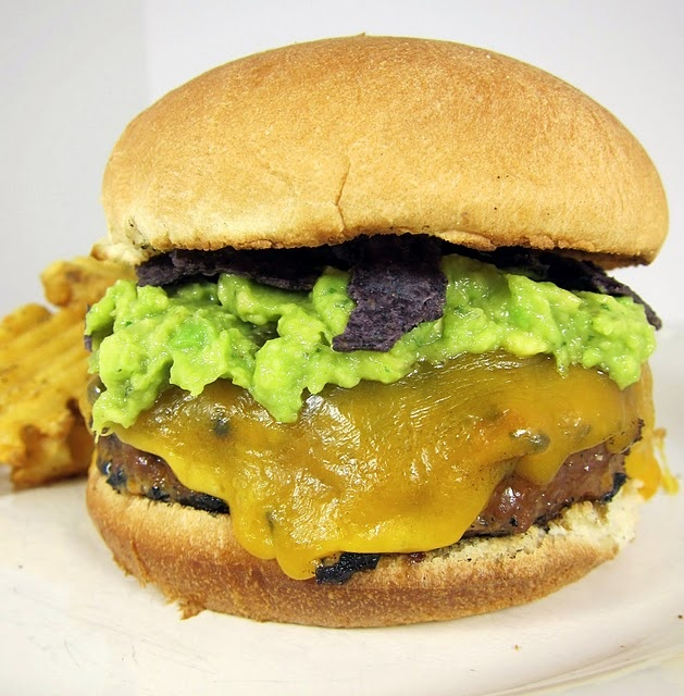 Taco Burger :: 1 lb ground beef, 1 egg, 3 Tbsp salsa 1 packet taco ...