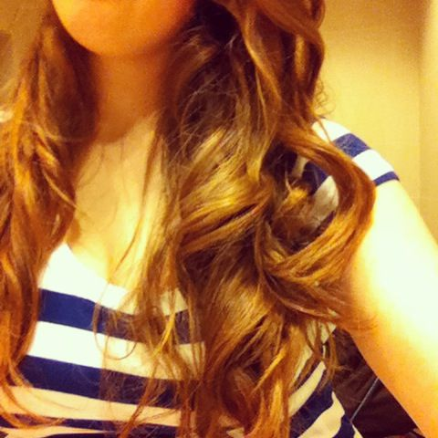 Curls Short brown wavy hairstyle