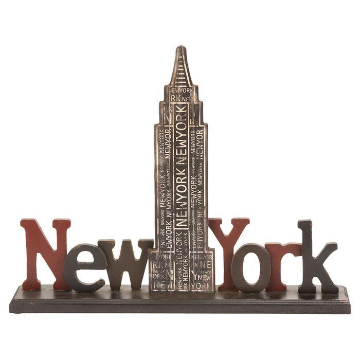 New york table decor words pinterest for Table new york