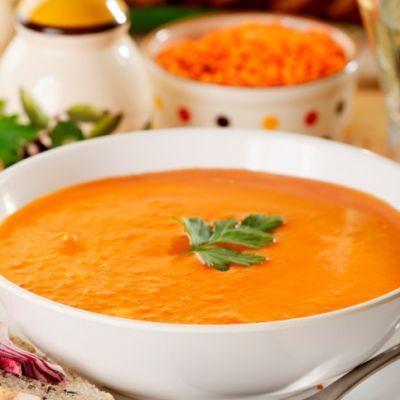 Hearty Vegan Lentil Soup   Vegan   Pinterest