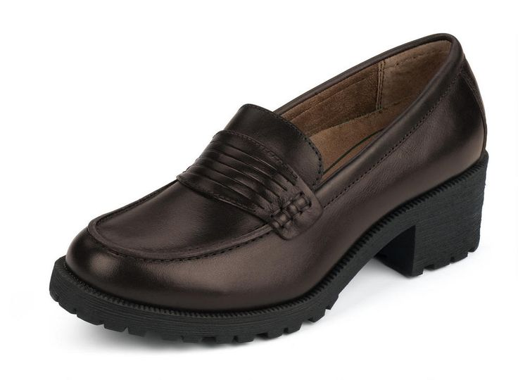 Women's Newbury Beef Roll Penny Loafer - Brown #eastlandshoe