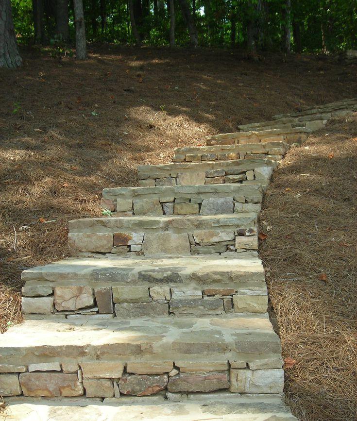 Flagstone Steps Outdoors Pinterest