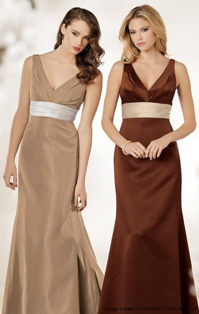 fall wedding colors bridesmaid dresses gown and dress gallery. Black Bedroom Furniture Sets. Home Design Ideas