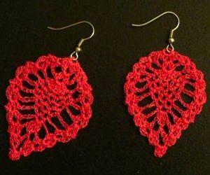 Free Crochet Patterns For Earrings : free pattern Crochet: Earrings Pinterest