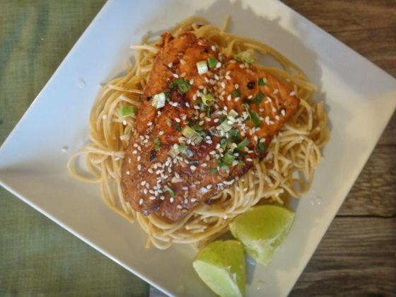 Honey Teriyaki Salmon   Veggie Goodness   Pinterest