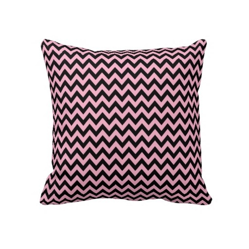 Fun Throw Pillows For Couch : Chevron pattern fun throw pillow