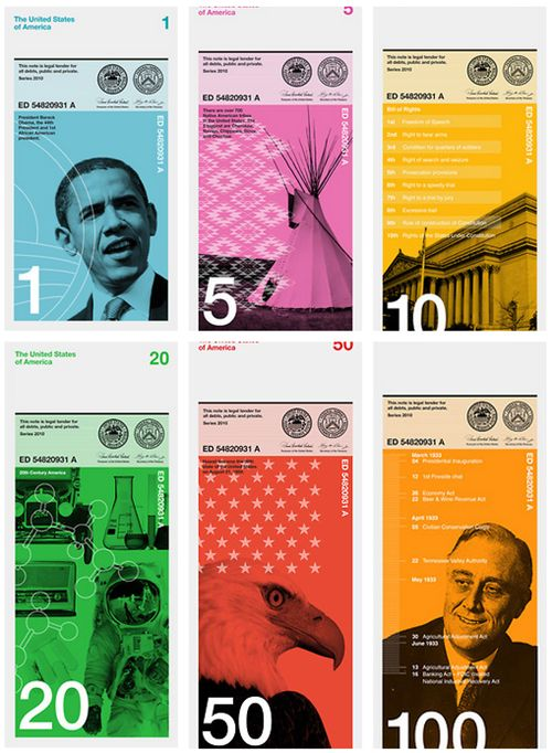 Redesigned $US currency?