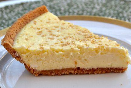 Luscious low-fat lemon cheesecake