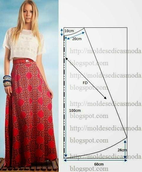 Длинная юбка в пол полусолнце как сшить 866