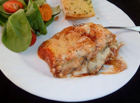Eggplant Ricotta Bake | Food | Pinterest