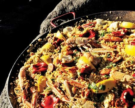 Seafood Paella Recipe | Classy Treats | Pinterest