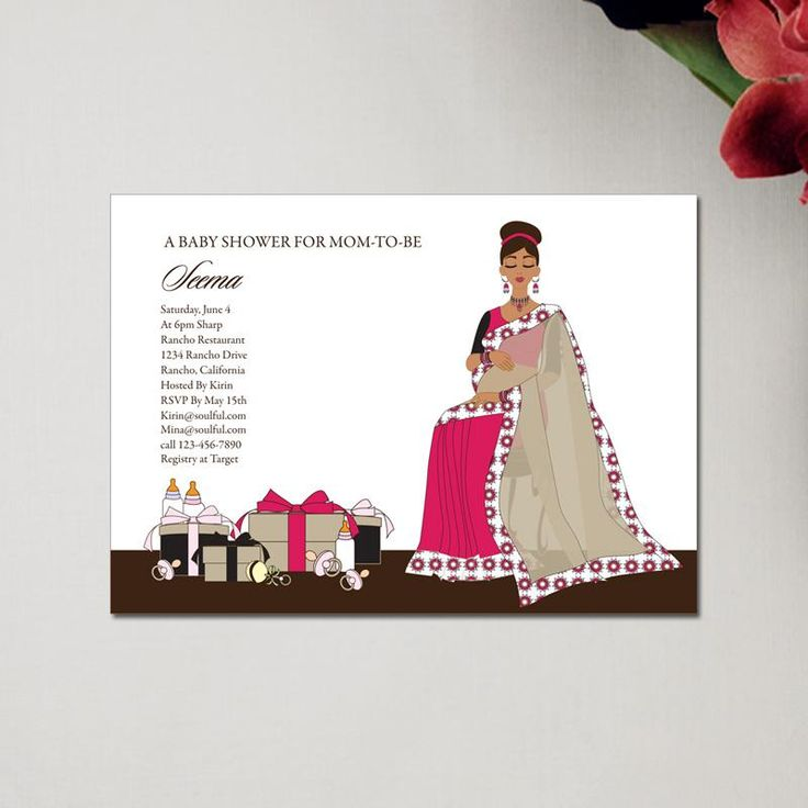 Indian Baby Shower Invitations could be nice ideas for your invitation template