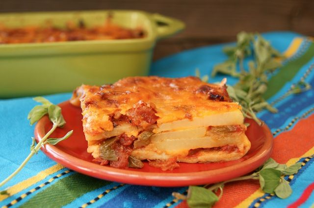 Mexican Lasagna (gluten-free And Vegetarian) Recipes — Dishmaps