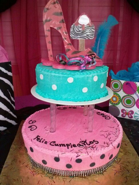 My mom birthday cake  Nice cakes***  Pinterest