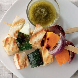 Tofu Kebabs with Cilantro Sauce | Recipes | Yummy.ph - the online ...