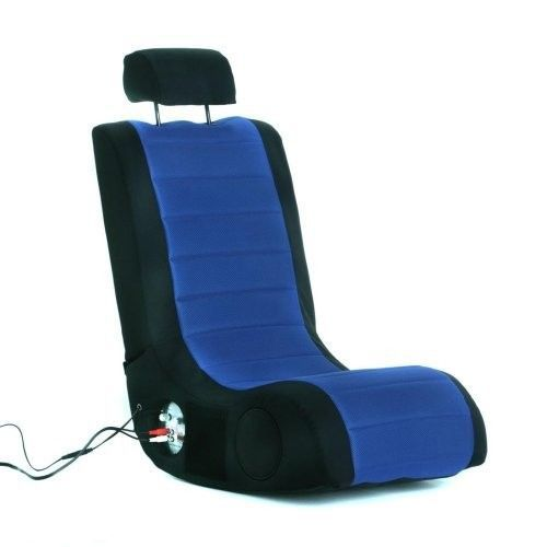 Vibrating BoomChair Gamer Multimedia Video Rocker Game Chair
