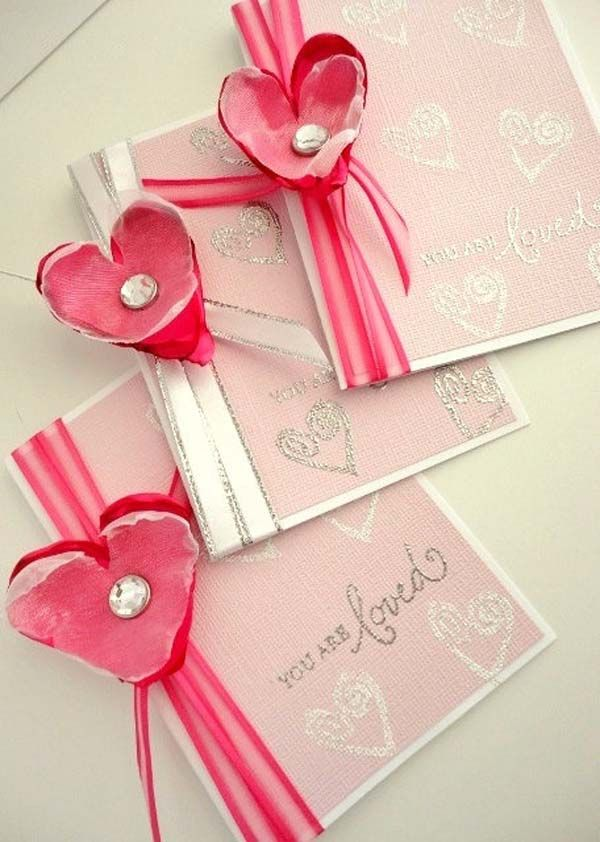 valentine's day card box template