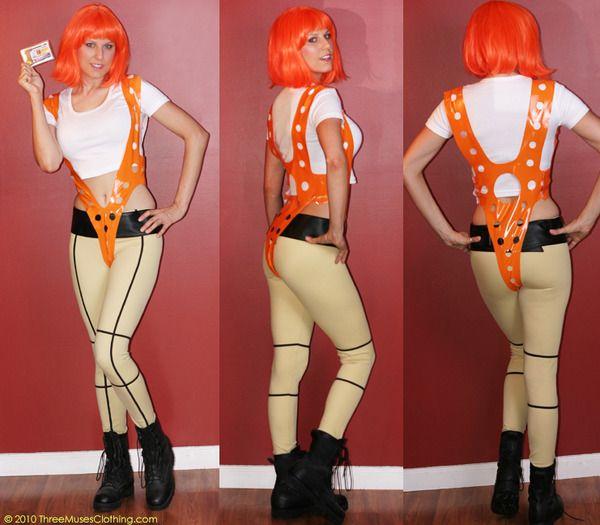 leeloo costume fifth element halloween cosplay pinterest