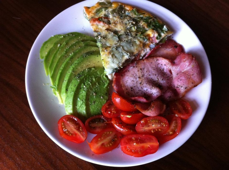 Spinach, Sun-dried Tomato and Cheese Frittata @Shoe String Healthy ...