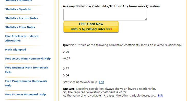 stats homework answers
