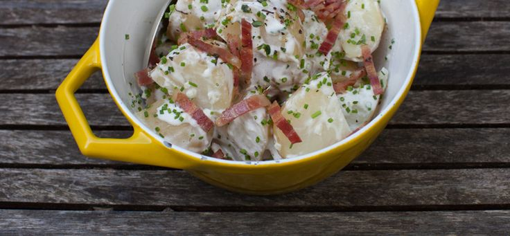 ... , Simple Bites. pictured is Creamy New Potatoes with Bacon & Chives