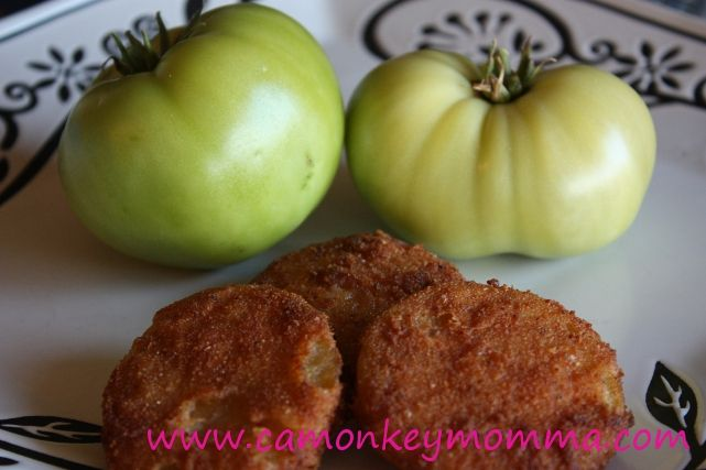 Easy Fried Green Tomatoes Recipe | Recipes | Pinterest