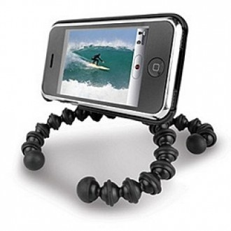 Flexible Tripod with Suction Cup and Clips | X-treme Geek