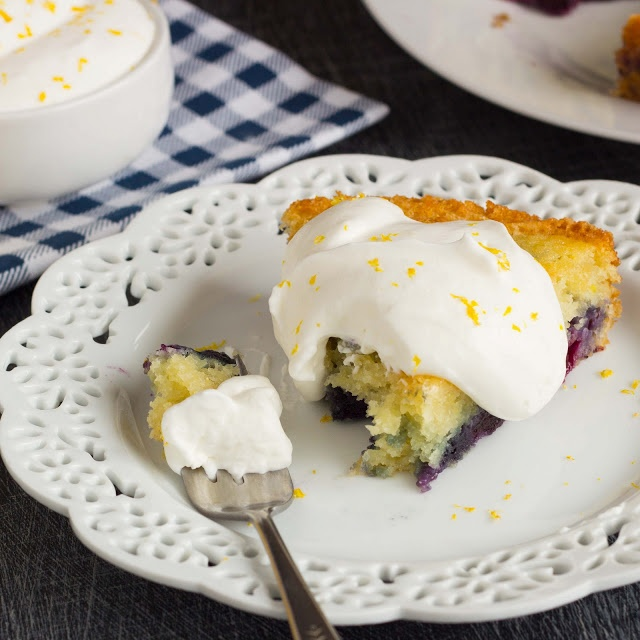 ... Cultivation: Eggless Lemon Blueberry Cake with Lemon Cream #eggallergy