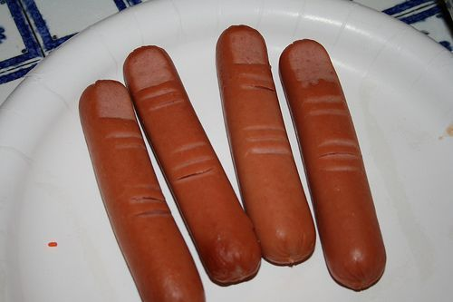 Halloween Food Hot Dog Fingers