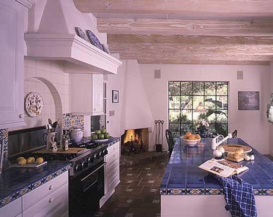 My next kitchen spanish style pinterest for Spanish style kitchen designs