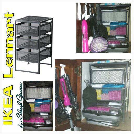 lennart drawer unit dark gray