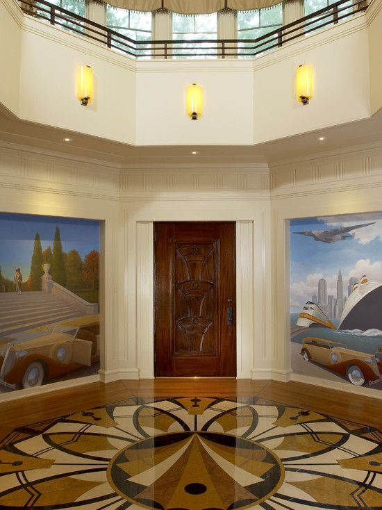 Modern Art Deco Interior Design Art Deco Style Pinterest