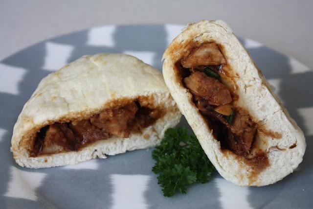 Chinese BBQ Pork Steamed Buns {Char Siu Bao}