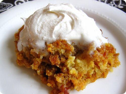 The Great Pumpkin Dessert