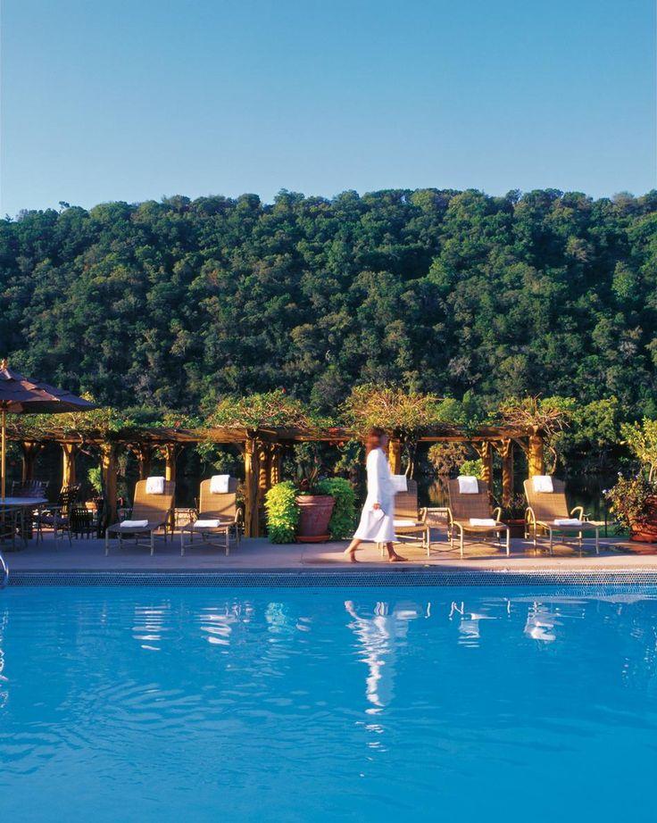 Lake austin spa resort pool best pool vacations pinterest for Best austin spa resorts