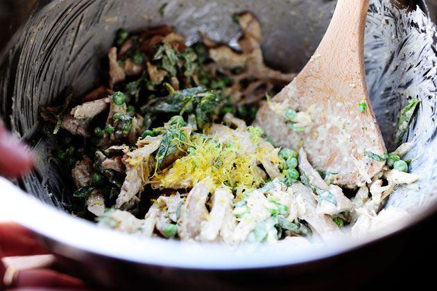 Lemon Basil Chicken Salad; recipe: Ree Drummond (The Pioneer Woman) # ...