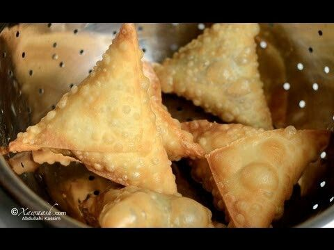 Sambusa | Xawaash Somali Food Network | Pinterest